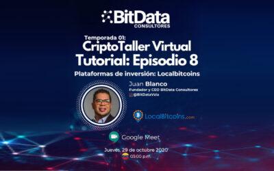 CriptoTaller Virtual Tutorial   plataformas de inversión: LocalBitcoins