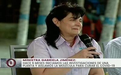 Venezuela desarrolla nuevo tratamiento para el covid-19, molécula DR10