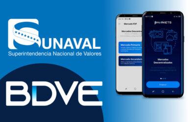 SUNAVAL autoriza el funcionamiento Bolsa Descentralizada de Valores de Venezuela BDVE